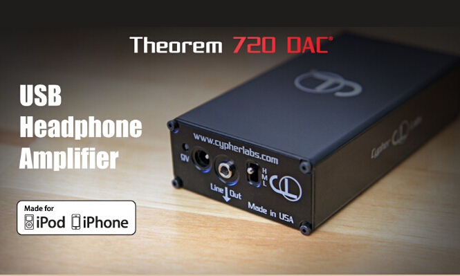 Cypher Labs Theorem 720 DAC/AMP